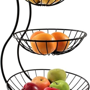 Amazon: Diversified 3-Tier Yumi Arched Server Stacked Organizer For $20.57 (Reg $39) + Free Prime Shipping.