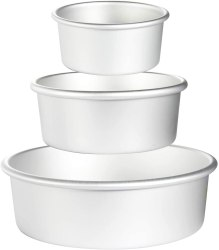 Amazon: 3 Pieces Aluminum Round Cake Pans just $6.67 w/code (reg $22.22)