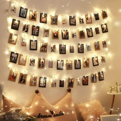 Amazon: 40led 20clips Led Picture Clip Light for only $5.99 (Reg. $11.99) after code!