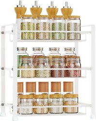 Amazon: Spice Rack, 3 Tier for $18.59 (Reg. Price $29.99) after code!