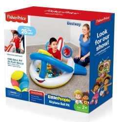 Walmart: Little People™ Airplane Ball Pit For $11.99 (WAS $29.99)