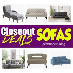 Wayfair: Closeout deals on Sofas, Limited time only!