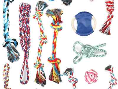 Amazon: 10 Pcs Dog Rope Toys for $11.70 (Reg.Price $25.99) after code!