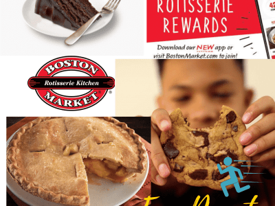 Freebie: 2 FREE Boston Market Individual Desserts - Choose from Cake, Pie, Cookies