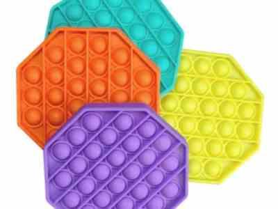 Amazon: 4 Pack Octagon Push Pop Bubble Fidget Sensory Toys for $6.99 (Reg. Price $13.99)