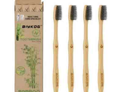 Amazon: 4Pcs Natural Bamboo Toothbrush for $2.80 (Reg. Price $6.99) after code!