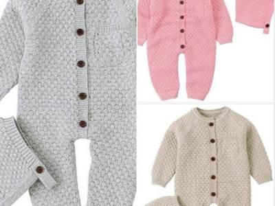 Amazon: Anmino Newborn Baby Boys Girls Sweater Knitted Romper Bodysuit, Just $9.99 (Reg $19.99)