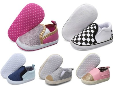 Amazon: Baby Canvas Shoes for $4.89-$6.99 (Reg. Price $6.99-$9.99) after code!