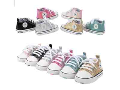 Amazon: Baby Sequined Canvas Shoes for $9.99 (Reg. Price $33.30) after code!
