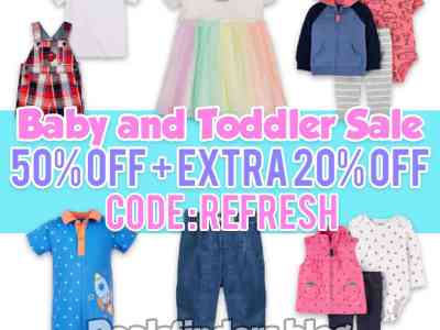 Macy's: Baby and Toddler Clothing on Sale, Up to 75% off!