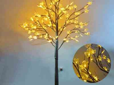 Amazon: Birch Tree Lighted, Maple Tree with Lights 6ft, Just $49.99 (Reg $99.98) after code!