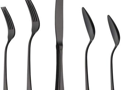 Amazon: Black Flatware Sets 20-Piece Silverware Flatware Cutlery Set, Just $19.99 (Reg $39.99) after code!