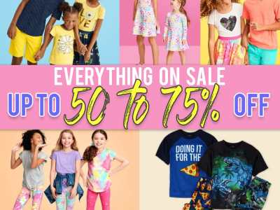 The Children's Place: Kids Outfit on Sale! Up to 75% off!