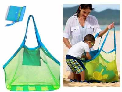 Amazon: Extra Large Mesh Beach Bag for $7.64 (Reg. Price $15.99)