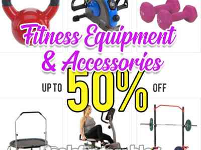 Zulily: Fitness Equipment and Accessories Sale, Up to 50% off!