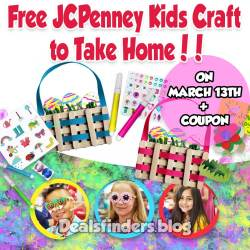 Free JCPenney Kids Craft to Take Home
