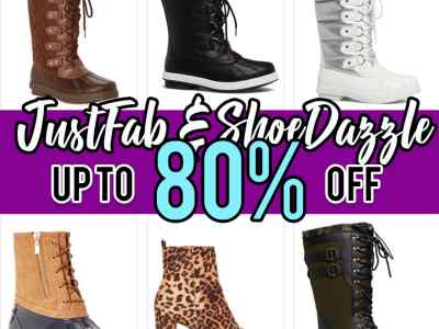 Zulily: JustFab & ShoeDazzle Winter Boots, up to 80% off