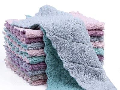Amazon: Kitchen Cloth Dish Towels,Dishcloths, Absorbent Coral Velvet Dishtowels, Just $5.99 (Reg $13.99) after code!
