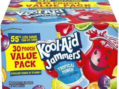 Amazon: Kool-Aid Jammers Tropical Punch Flavored Juice Drink, Just $5.97