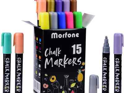 Amazon: Liquid Chalk Markers, 15 Colors for $8.49 (Reg. Price $16.99) after code!