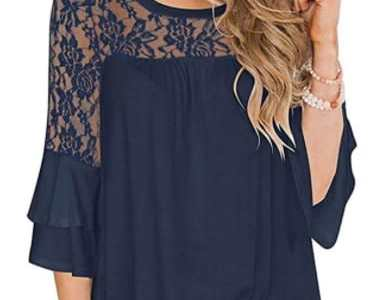 Amazon: Women's Lace Shirts for $10.49 (Reg. Price $20.99) after code!
