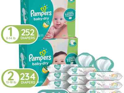 Amazon: Pampers Baby Diapers and Wipes Starter Kit for $99.33 (Reg. Price $124.33) after coupon!