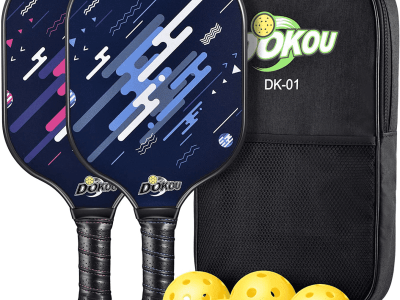 Amazon: Pickleball Set of 2 Pickleball Paddles, 4 Pickleball Balls, and 1 Bag, 35% off after code!