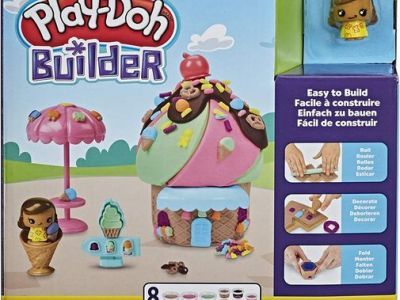 Amazon: Play-Doh Builder Ice Cream Stand Toy Building Kit, Just $4.99 (Reg $9.99)