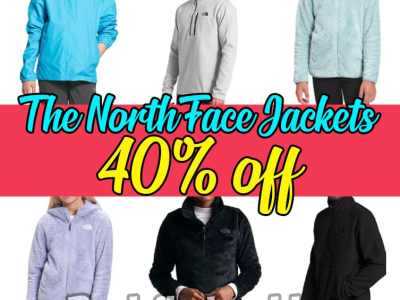 Macy's: The North Face Jackets, 40% off!