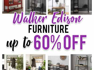 Zulily: Walker Edison Furniture, up to 60% off!