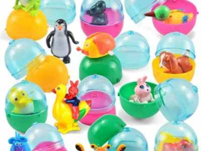 Amazon: 12Pcs Easter Eggs Prefilled with Assorted Wind-up Toys for $9.95 (Reg. Price $12.95)