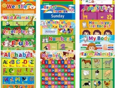 Amazon: 16 Pack Laminated Educational Posters for $11.47 (Reg. Price $22.95) after code!