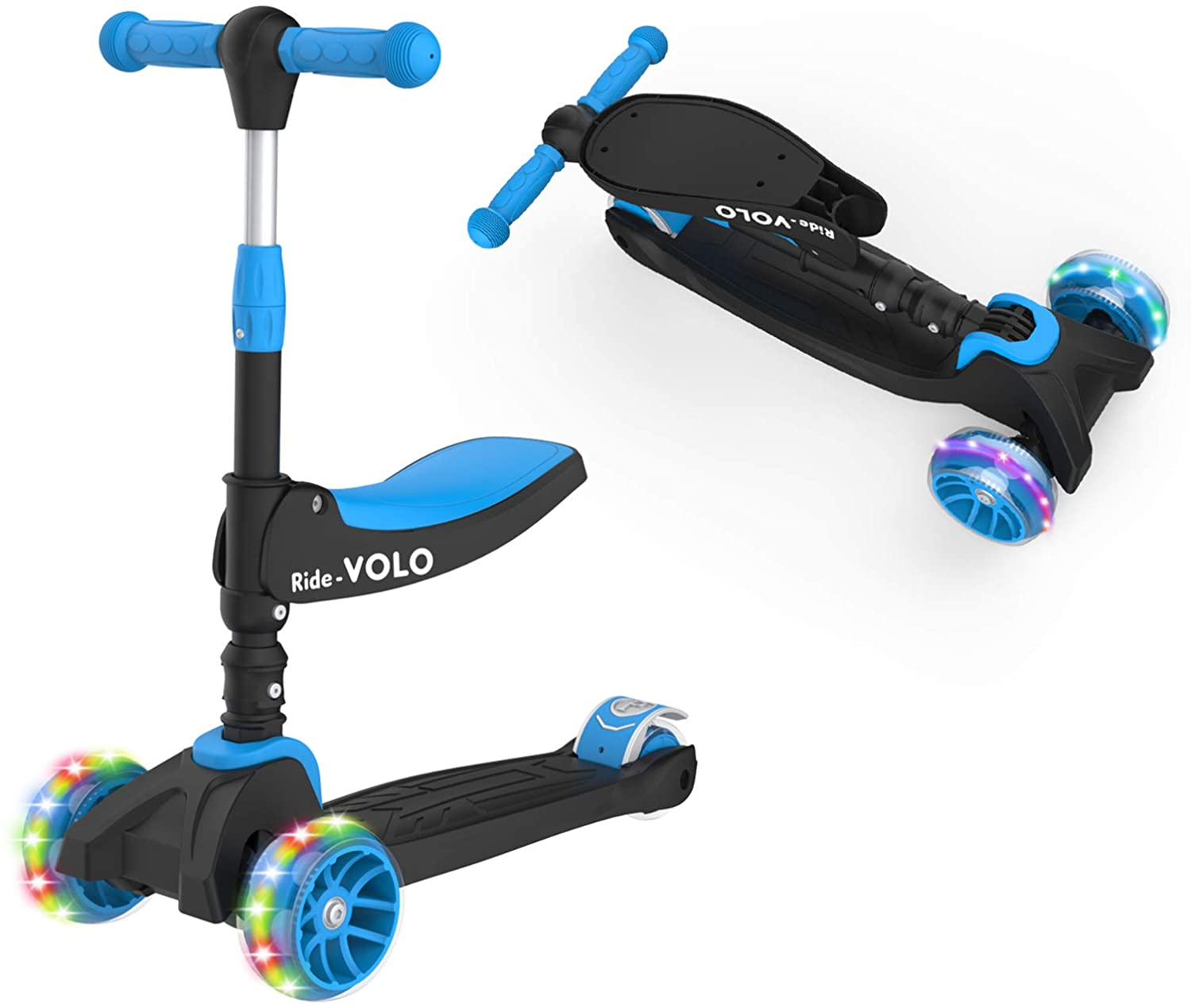 Amazon: 2-in-1 Kick Scooter with Removable Seat, Just $30.99 (Reg $59.99 ) after code and coupon!