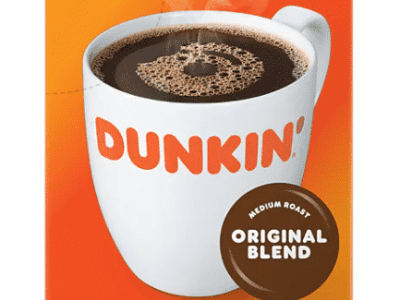Staples: 22CT Dunkin Donuts Original Blend Coffee Keurig K-Cup Pods for $9.99 (Reg. Price $13.29)