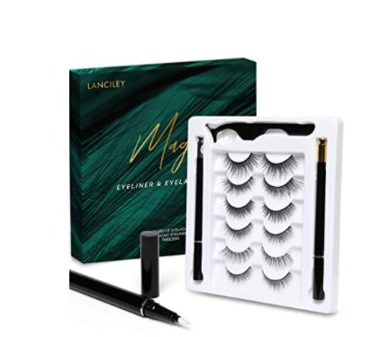 Amazon: 6 Pairs Eyelashes 2 Liquid Eyeliner and Tweezers for $5.70 (Reg. Price $21.99)