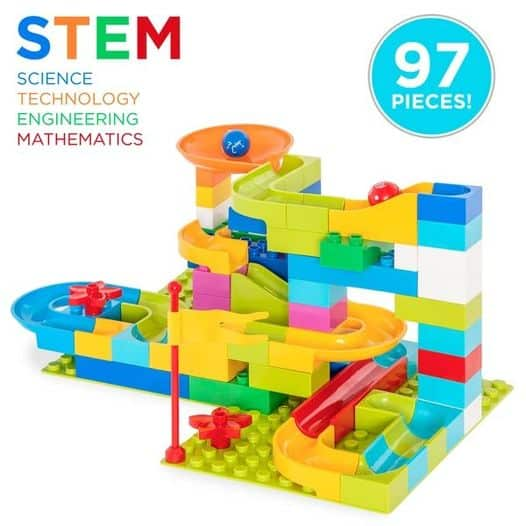 Best Choice Products: 97-Piece Kids Create Your Own Marble Maze Run Racetrack Puzzle, Just $18.99 (Reg $35.99) after code!