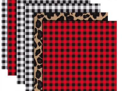 Amazon: Buffalo Plaid Heat Transfer Vinyl - 6 Sheets, Just $ 11.99 (Reg $19.99)