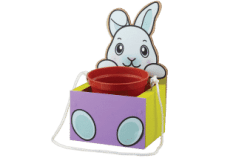 Home Depot Kids Workshop: FREE Bunny Hanging Planter Craft April 2021
