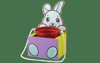 Home Depot Kids Workshop: FREE Bunny Hanging Planter Craft April 2021