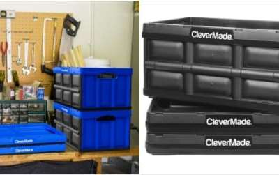 Walmart: CleverMade 32L Collapsible Storage Bins , 3 Pack, Just $47.99 (Reg $63.99)