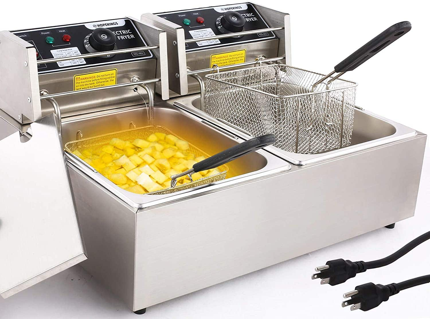 Amazon: Commercial Deep Fryer Countertop for Home, Just $135.99 (Reg $169.99) after code!