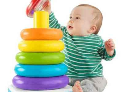 Walmart: Fisher-Price Giant Rock-a-Stack with 6-Colorful Rings, Just $10.00 (Reg $19.97)