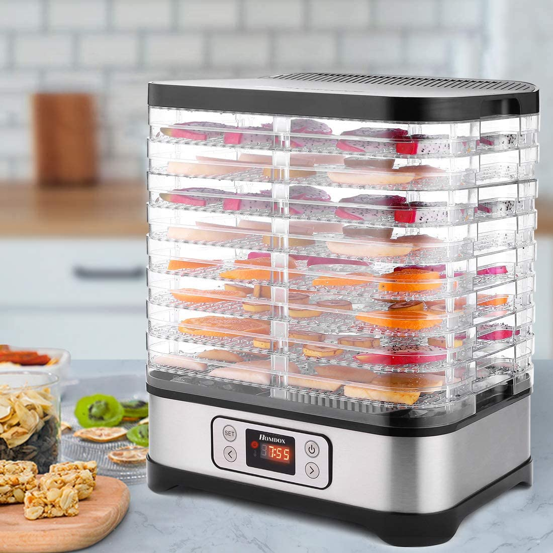 Amazon: Food Dehydrator Machine, Digital Timer and Temperature Control, Just $69.99 (Reg $99.99) after code!