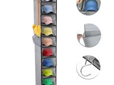 Amazon: Hat Organizer Rack 10 Shelf Hanging Hat Organizer, Just $13.79 (Reg $22.99)