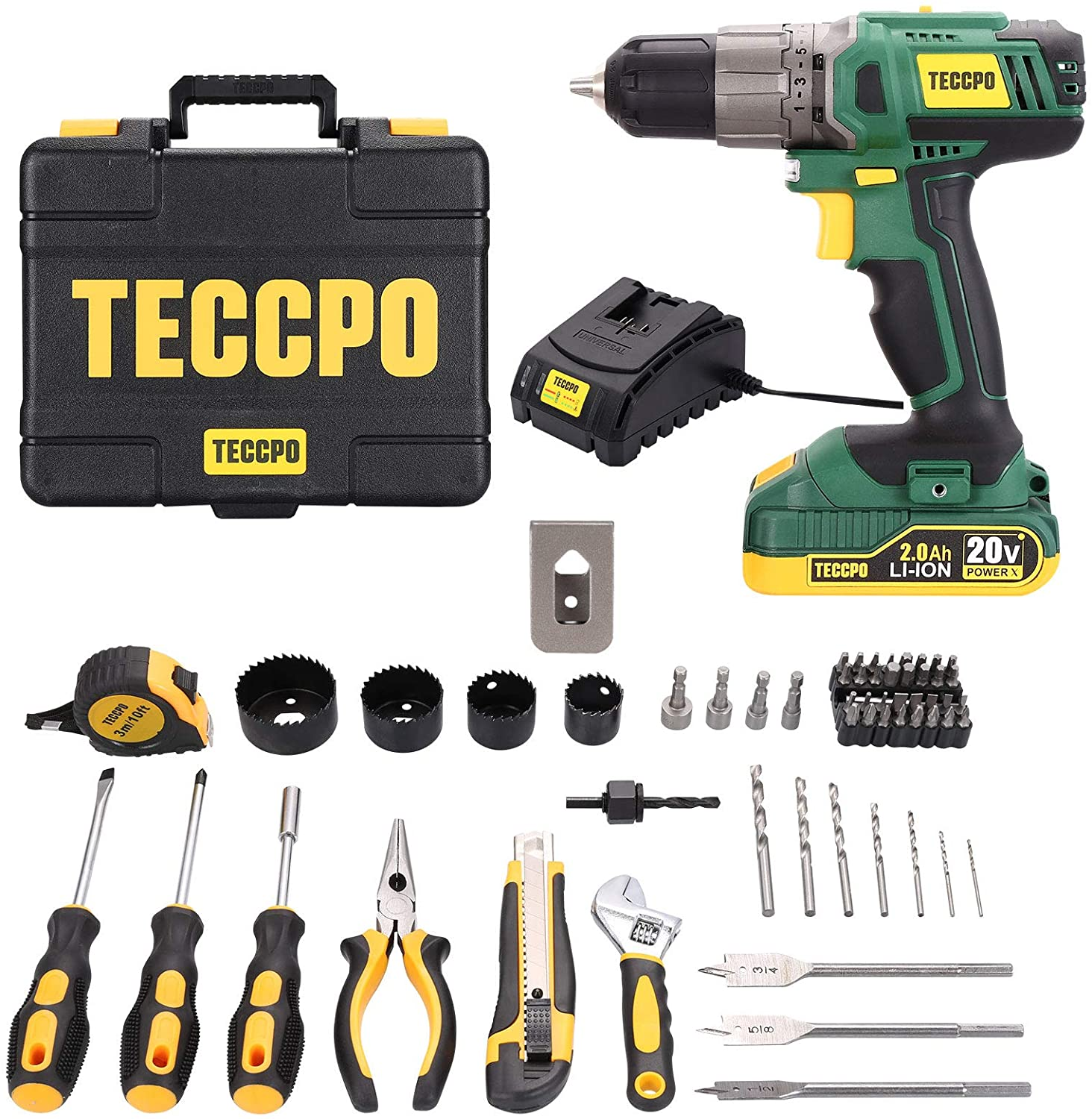 Amazon: Home Tool Kit & Drill for $35.99 (Reg. Price $79.99) after code and coupon!