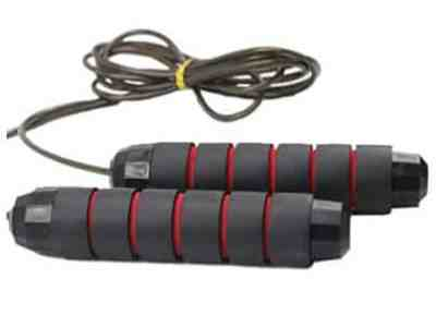 Amazon: Jump Rope – Adjustable Length and Tangle Free for $2.80 (Reg. Price $6.99) after code!