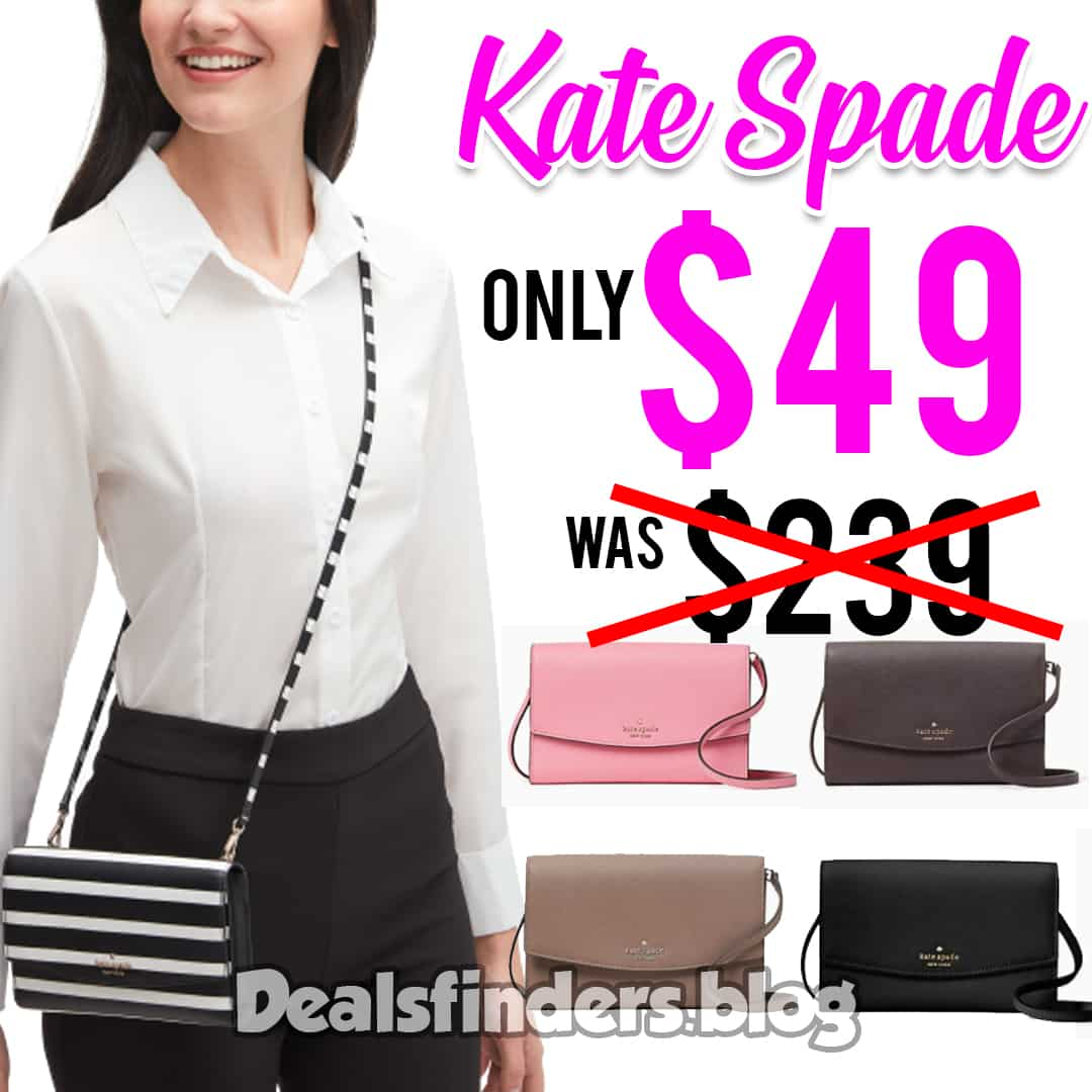 Kate Spade: laurel way winni Crossbody bag, Just $49.00 (Reg $239) TODAY ONLY!