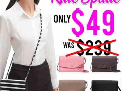 Kate Spade: laurel way winni Crossbody bag, Just $49.00 (Reg $239) TODAY ONLY!
