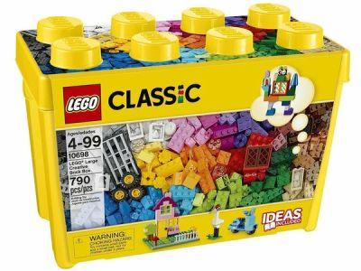 Ebay: LEGO Classic Large Creative Bricks Kids 790 Piece Building Box Set, Just $39.99 (Reg $59.99)