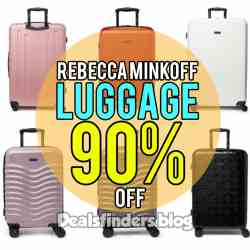 Nordstrom Rack: Rebecca Minkoff Luggage, 90% off! Limited Time!